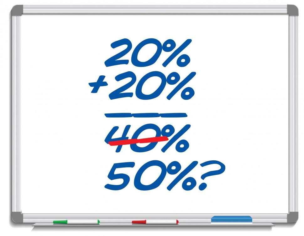 50 Percent Sold