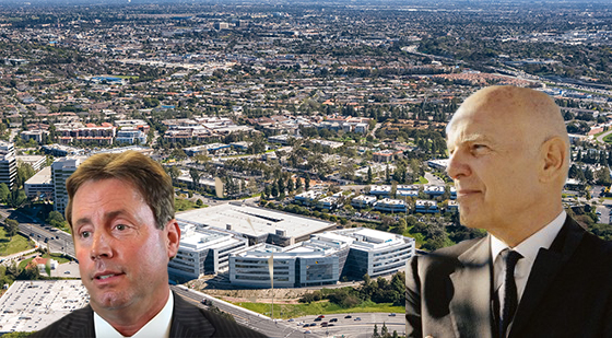 Kevin Shannon of NGKF, Steven Roth of Vornado and the property at 800 Corporate Pointe