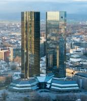 Deutsche Bank Headquaters in Frankfurt