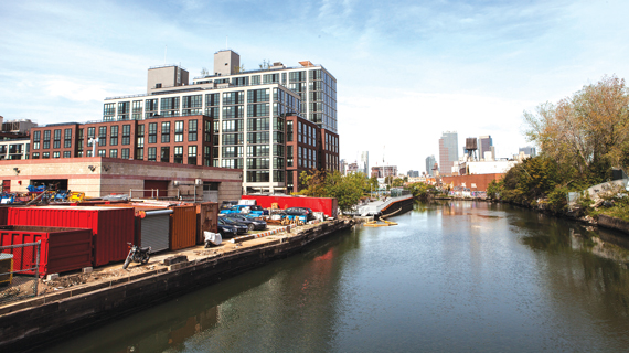 The Gowanus Canal (Photo by Catherine Gibbons)