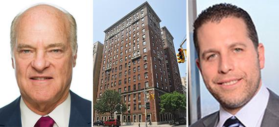 From left: Henry Kravis, 915 West End Avenue and Josh Zegen