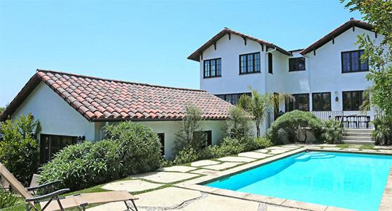A home in Los Feliz (credit: the Agency)