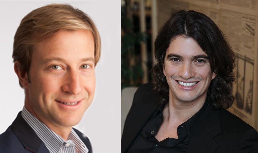 Michael Gross and Adam Neumann