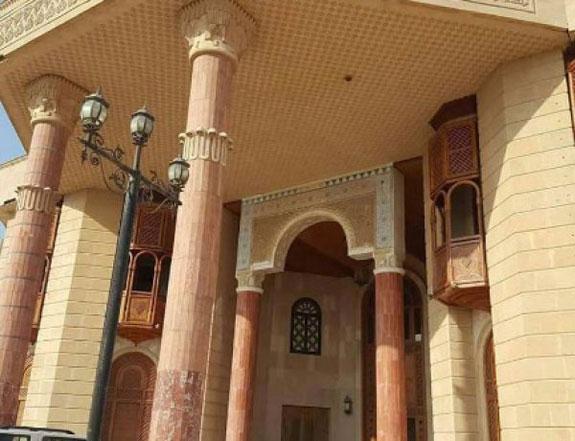 A former palace of Saddam Hussein