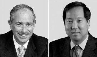 Stephen Schwarzman and Michael Chae