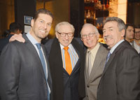 Jonathon Yormak, Larry Silverstain, Leonard Boxer and Jonathan Mechanic