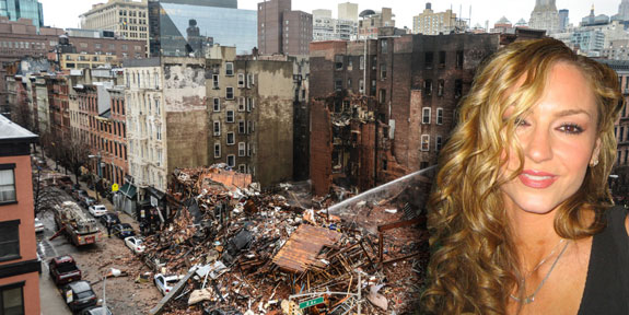 "The aftermath of the East Village explosion and ""Sopranos"" actress Drea de Matteo"