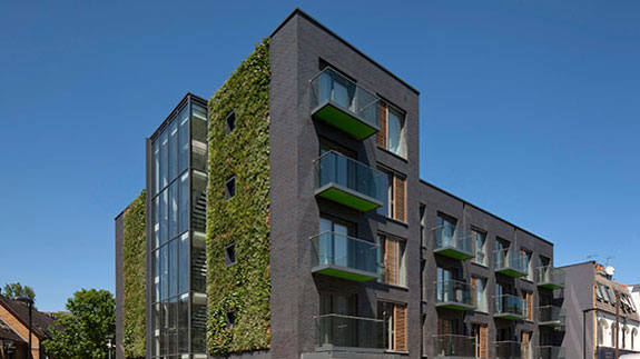 Pocket Living's new project on Weedington Road in London's Kentish Town neighborhood