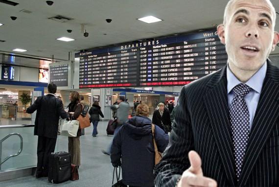 Penn Station and Scott Rechler