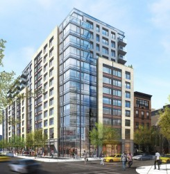 Rendering of 300 West 122nd Street