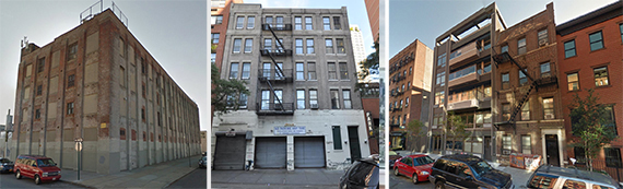 201 46th Street, 427 East 90th Street and 532 East Fifth Street