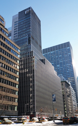 425 Park Avenue before construction started