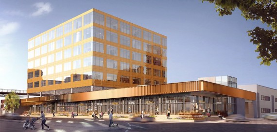 Rendering of 626 Sheepshead Bay Road (credit: S9 Architecture)