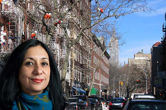 Landmarks Preservation Commission's Meenakshi Srinivasan and Sullivan Street