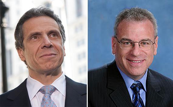 Andrew Cuomo and Jeff Dinowitz