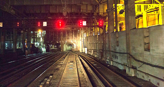 Hudson River tunnel