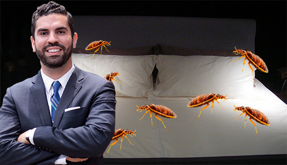 Rafael Espinal and bedbugs