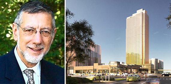 Rubin Schron and 532 Neptune Avenue (credit: S9 Architecture)