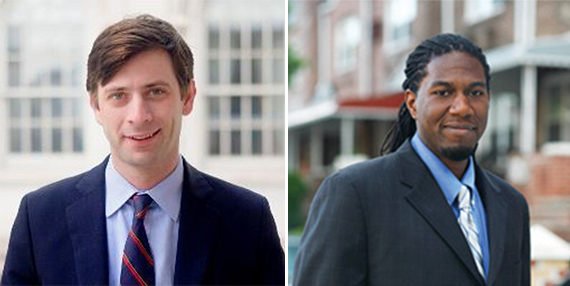 Stephen Levin and Jumaane Williams