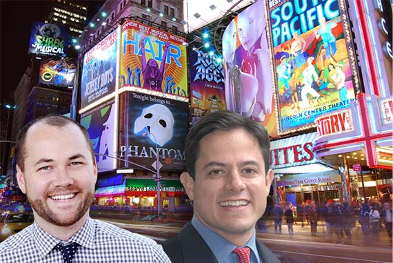 Corey Johnson, Dan Garodnick and the Theater District