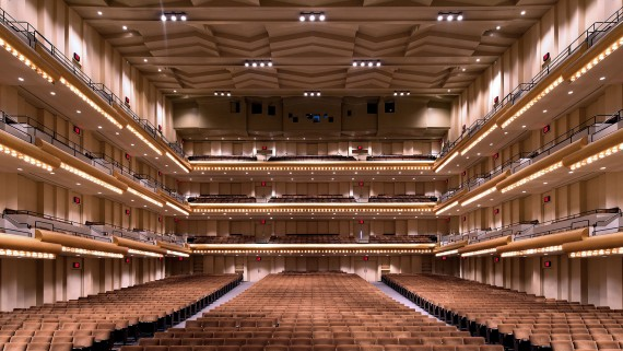 Lincoln Center David Geffen Hall Robert Cundall
