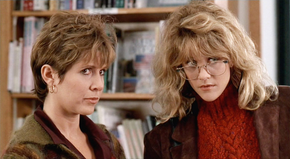 "Carrie Fisher in ""When Harry met Sally"""