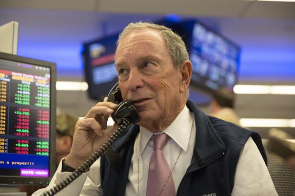 Michael Bloomberg. Lori Hoffman/Bloomberg