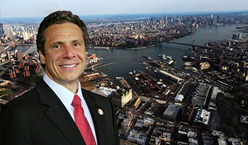 Andrew Cuomo and the Brooklyn Navy Yard