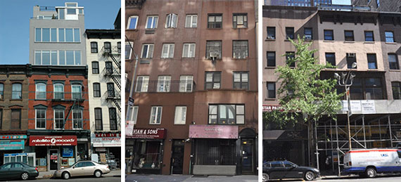 2 East 30th Street, 259 Bowery and 275-273 Fifth Avenue