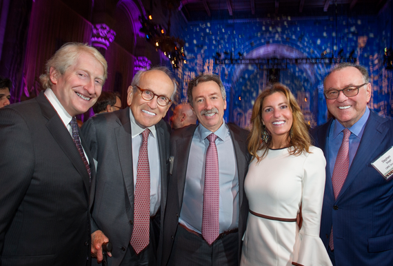 Meyer Last, Burt Resnick, Jonathan Mechanic, Pamela Stamataky and Stephen Siegel (credit: Steve Friedman)