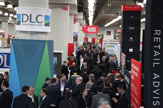 Dealmakers attend ICSC's New York show in 2014