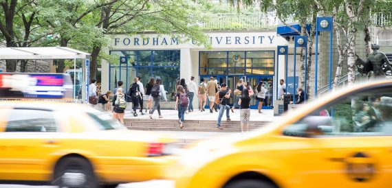 Fordham University at Lincoln Center (credit: Fordham)