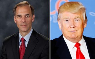 Mark Zandi and Donald Trump