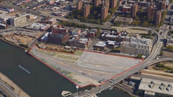 South Bronx rail yard (credit: Empire State Development)