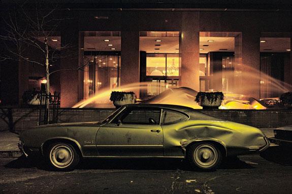 ountain car, Oldsmobile Cutlass, 1975. Credit: Langdon Clay