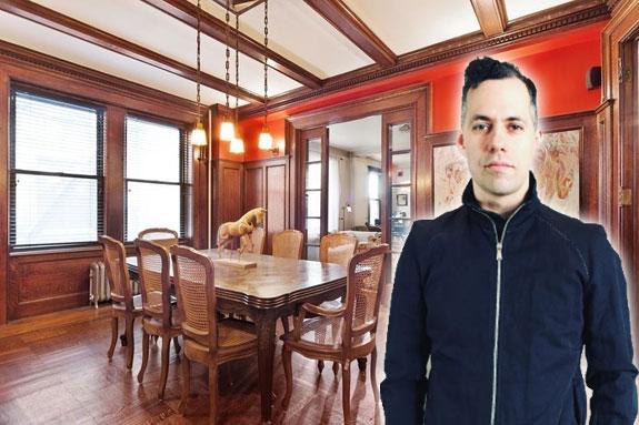 Michael Idov and his Washington Heights home (photo via Instagram)