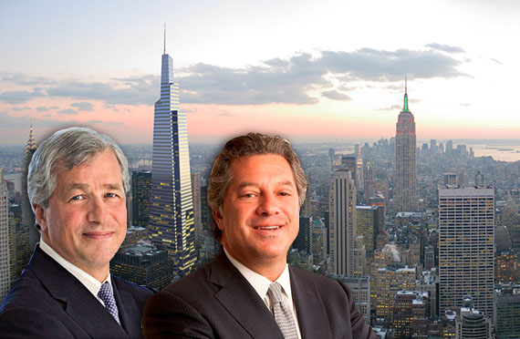 James Dimon, Marc Holliday and One Vanderbilt