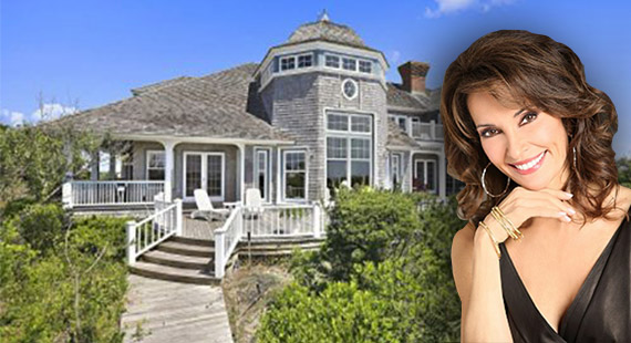 Susan Lucci and Four Winds at 20 Dune Road
