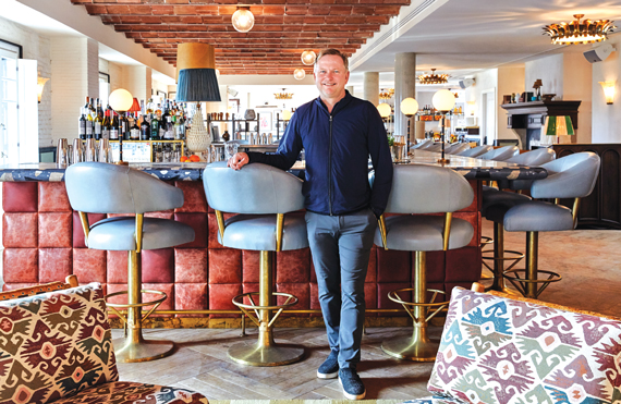 Charming Nick Jones, The Founder Of Soho House, In The Clubu0027s New Barcelona Location