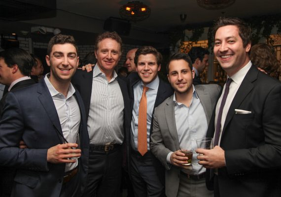 Justin Kravet, Marty Kravet, Zachary Baraf, Brendon Romanoff and Alex Vial