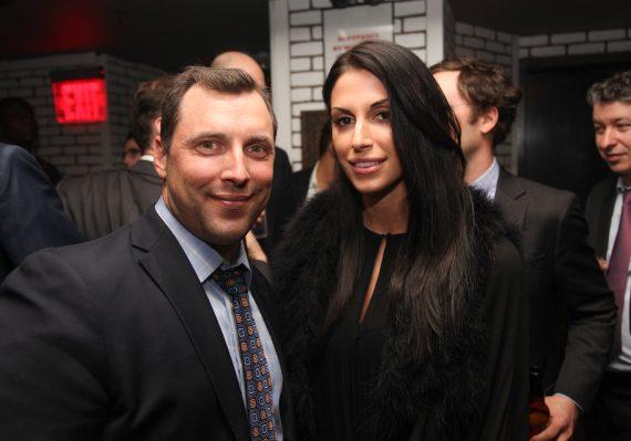 Michael Busch and Shayna Fischler