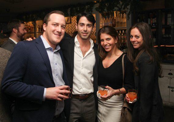 Adam Levine, Zack Waksal, Talia Zapolanski and Tara Lubin