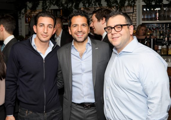 Daniel Glaser, Jonathan Zamir and Matt Cervino (Credit: J Grassi)