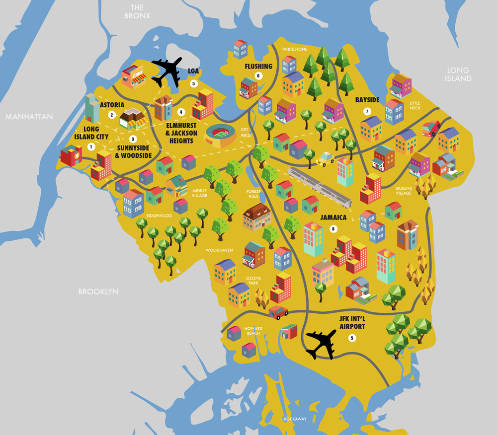 Astoria Nyc Map.Queens Real Estate Projects Long Island City Astoria
