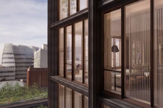 SHoP Architects | 475 West 18th St | Wooden Buildings NYC