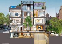 Rendering of 134 Charles Street (credit: Dolly Lenz Real Estate LLC)