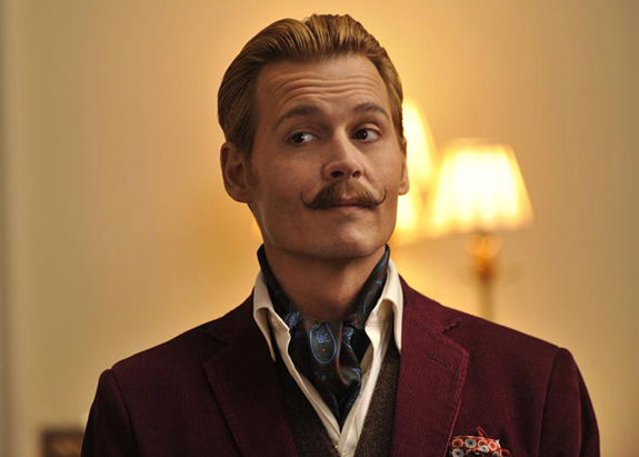Johnny Depp in Mortdecai (credit: Lionsgate)