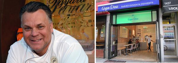 Francois Payard and Vegan Divas bakery