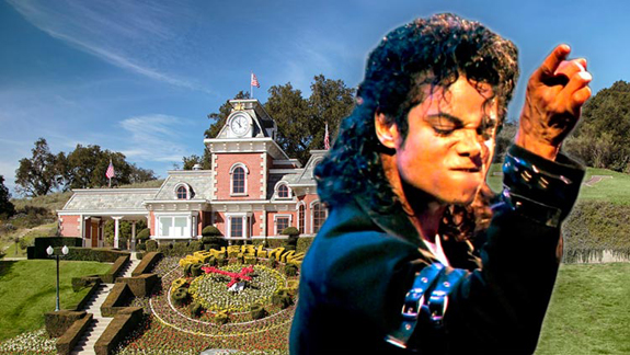 Michael Jackson and the Railroad at Neverland Ranch (credit: CelebrityAbc)