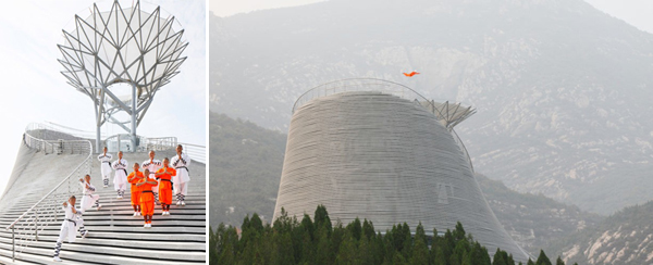 The Shaolin Flying Monks Temple by Mailītis Architects